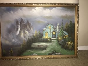 Mid 19th century French original painting-serious inquiries only. for Sale in Cayce, SC