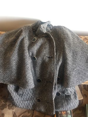 Poncho coat by lane Crawford (therapy) size L for Sale in Arlington, VA