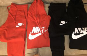Nike hoodie and joggers sets /shorts/large for Sale in Richardson, TX