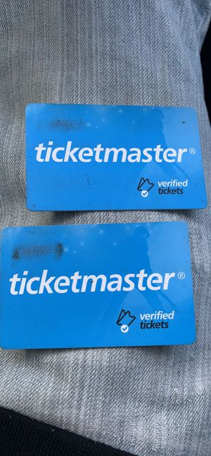 Tickets masters gifts cars for Sale in Worcester, MA