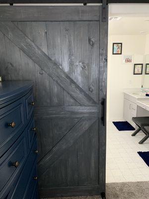 Master bathroom barn doors for Sale in Rancho Cucamonga, CA
