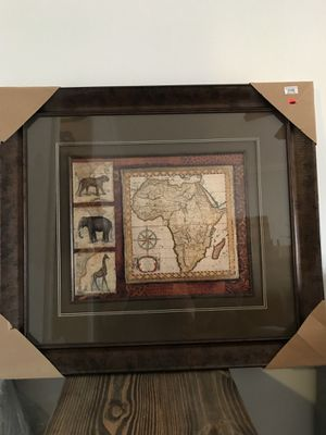 African Map Picture for Sale in Chicago, IL