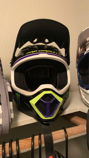 Bell monster energy dirt bike helmet small for Sale in Aurora, CO