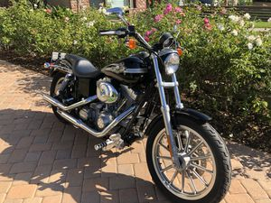 2003 Harley Davidson Dyna SuperGlide Anniversary crazy low miles for Sale in Long Beach, CA