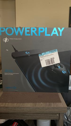 LOGITECH powerplay wireless charging system BRAND NEW IN BOX NEVER OPENED for Sale in Los Angeles, CA