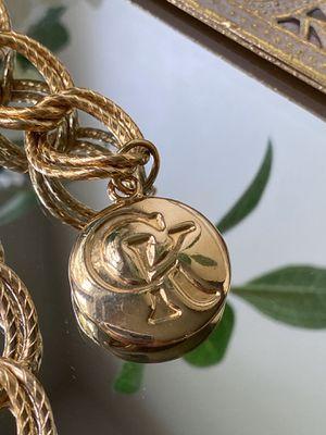 Calvin Klein Gold Loop Chain Belt for Sale in Shavano Park, TX