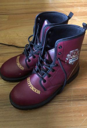 Harry Potter gryffindor boots for Sale in Seattle, WA