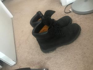 Timberland boots size 10 con.8/10 perfect for work for Sale in Germantown, MD