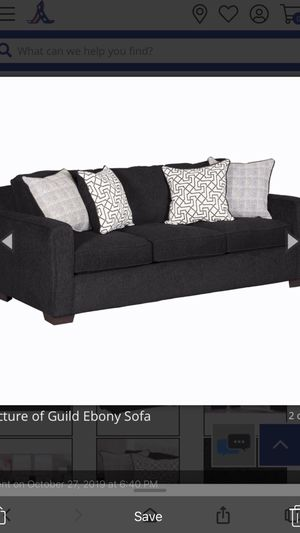 2 pieces sofa and love set with Pillows from American furniture for Sale in Glendale, AZ
