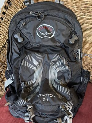 Osprey Stratos 24 L hiking/biking amazing backpack never used! New condition for Sale in Mesa, AZ