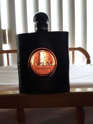 Black Opium perfume full bottle. for Sale in Salt Lake City, UT