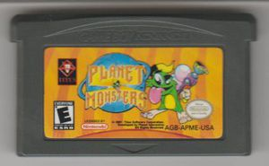 PLANETS & MONSTERS GAME FORꗮGAMEBOY ADVANCE ❗🎮 for Sale in Bakersfield, CA