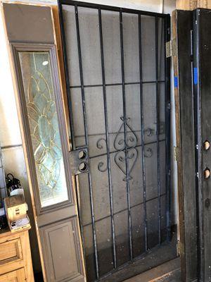 Very heavy aluminum security screen door custom made 36 x 80 for Sale in Los Angeles, CA