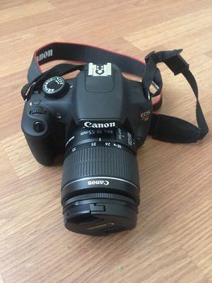 Canon eos rebel T5 dslr camera for Sale in Hesperia, CA
