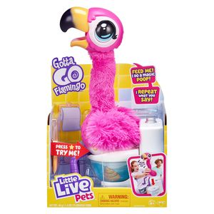1 New from the world of Little Live Pets, Gotta Go Flamingo is simply one funny bird from beak to feet! Sherbet is an interactive, toilet-trained flam for Sale in Sebring, FL
