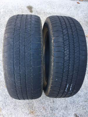 Bridgestone 275/60/20 tires - Good Condition for Sale in Tacoma, WA