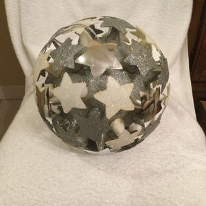 Disney Silver And White Stars On A Polystyrene Ball With Glitter for Sale in Clermont, FL