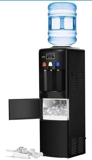 New 2 in 1 Water Dispenser with Built-in Ice Maker Machine for Sale in Hacienda Heights, CA