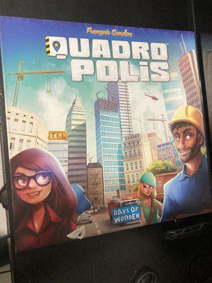 Quadropolis Board Game for Sale in Phoenix, AZ