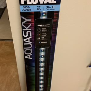 Aquarium Led Fluval Light for Sale in Newington, CT