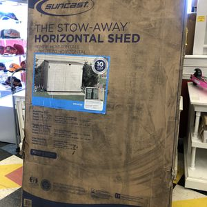 New Suncast Resin Outdoor Horizontal Shed for Sale in Virginia Beach, VA