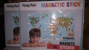 Magnetic World Map Puzzle for 21in x 37in for Sale in Corona, CA