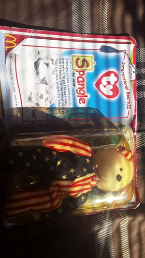 Original teenie beanie baby spangle with errors from McDonalds for Sale in Zebulon, NC