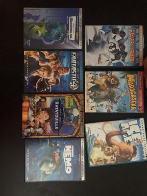 throwback movies 8$ each for Sale in Northbridge, MA