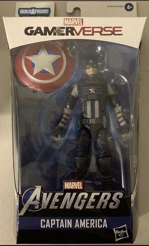 CAPTAIN AMERICA Hasbro GAMERVERSE Marvel Legends 6inch FIGURE for Sale in Rancho Cucamonga, CA