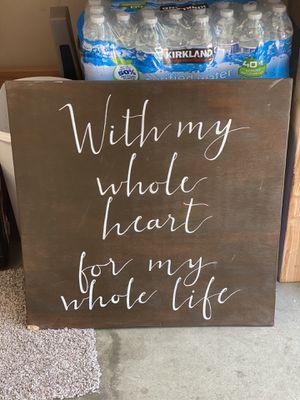 Wedding sign - Etsy wooden sign handmade for Sale in Orange, CA