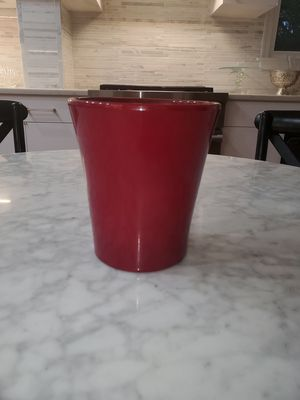 Burgundy Red Contemporary Planter New Gorgeous Flower Pot for Staging for Sale in Washington, DC