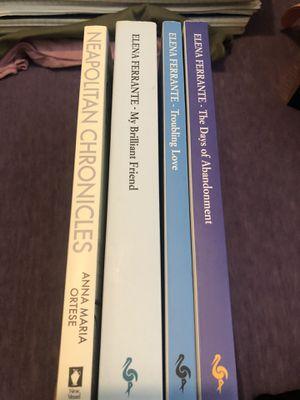 Elena Ferrante Books for Sale in Queens, NY