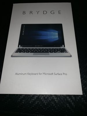 Microsoft Surface Pro Keyboard for Sale in Bartlett, IL
