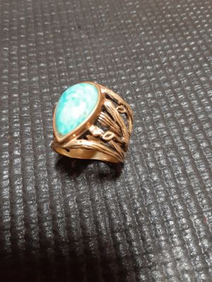 Barse Turquoise Ring made in Thailand for Sale in Hillsboro, OR