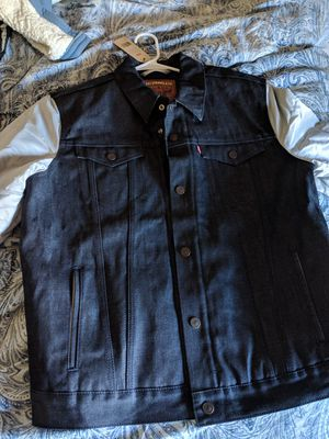 huge discount be6a5 6f974 New and Used Jean jacket for Sale in Queens, NY - OfferUp