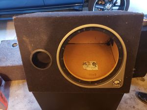 "QLogic Subwoofer Box 12"" Enclosure for Sale in HUNTINGTN BCH, CA"