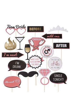 Bachelorette Party Photo Booth Props for Sale in Fresno, CA
