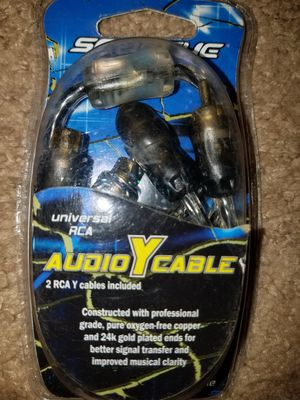 Audio Y Cables for Sale in Pinetops, NC