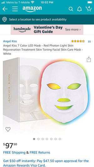 This is a facial kit called Angel kiss 7 retail for $80 I'm selling for $39 for Sale in La Puente, CA