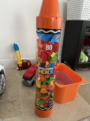 Crayons Blocks 80 pieces kids toy for Sale in Pembroke Pines, FL