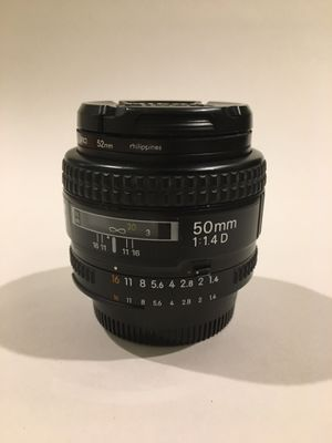 Nikon 50mm F1.4 Autofocus Lens for Sale in Clemson, SC