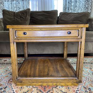 Rustic Vintage Heritage Bed/Side Table for Sale in Portland, OR