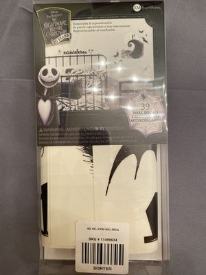 Nightmare Before Christmas Wall Decals for Sale in Ontario, CA