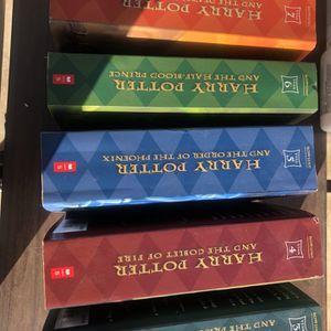 HARRY POTTER BOOKS MAKE REASONABLE OFFERS for Sale in Bloomington, CA
