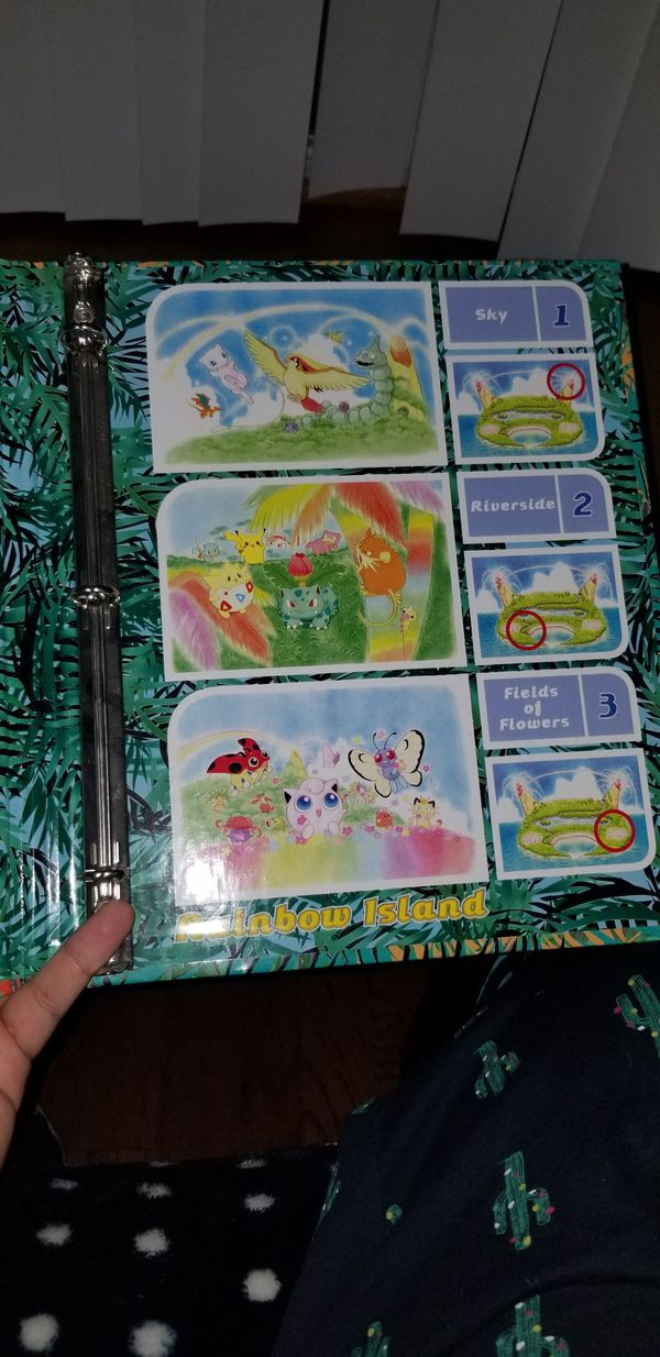 Pokemon card southern collection island binder
