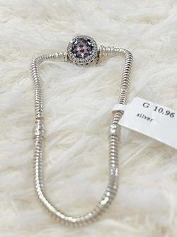 Pandora silver bracelet 925 Italy , 10.96 G for Sale in Nashville,  TN