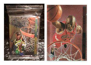 Pristine Gem Mint 1993-94 Upper Deck SE Behind the Glass Factory Sealed Redemption Foil Set Michael Jordan for Sale in San Jose, CA