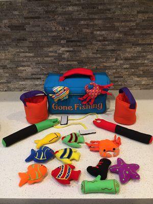 Gone Fishing Plush Toy Tackle Box for Sale in Renton, WA