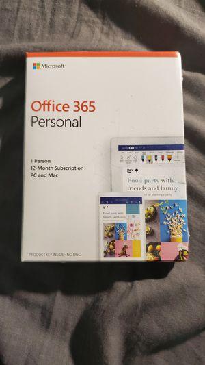 Microsoft Office 365 Personal for Sale in Sacramento, CA