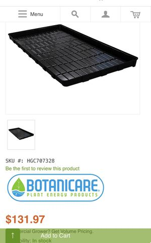 2 4x8 plant tray for Sale in Spring Valley, CA